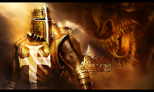Knight and Dragon by MARKCAPE on DeviantArt