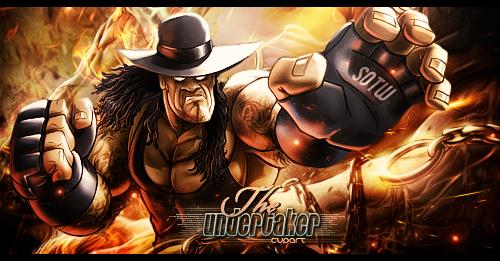 The Undertaker by MARKCAPE