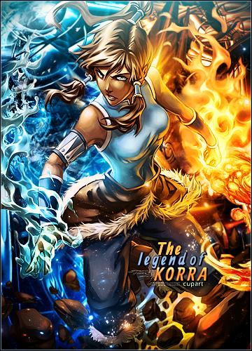 The Legend of Korra  by MARKCAPE