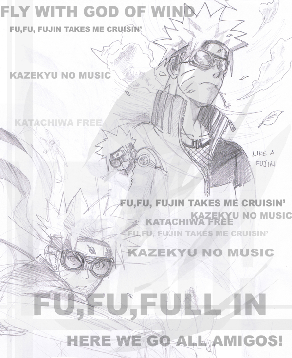 Naruto: Like A Foojin by Pinoy0A on DeviantArt