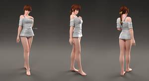 Kasumi CG Render 03