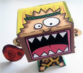 Cri Primal - Primal Scream Paper toy