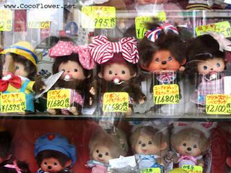 Monkiki addict - vintage plush - Japan trip