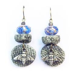 Abeille Boucles d'oreilles - Bee earrings