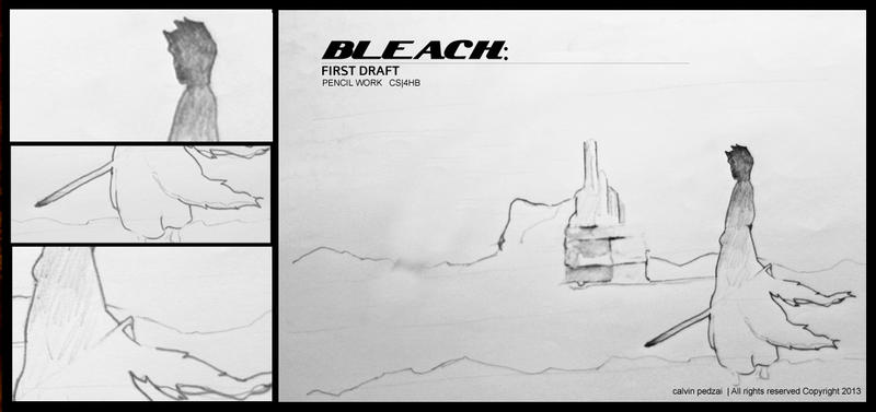 Bleach sketch work by KalvinK