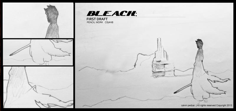 Bleach sketch work by KalvinK