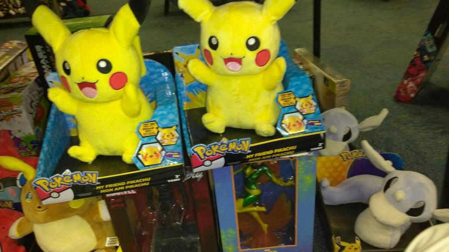 pikachu plushie by megatanklord