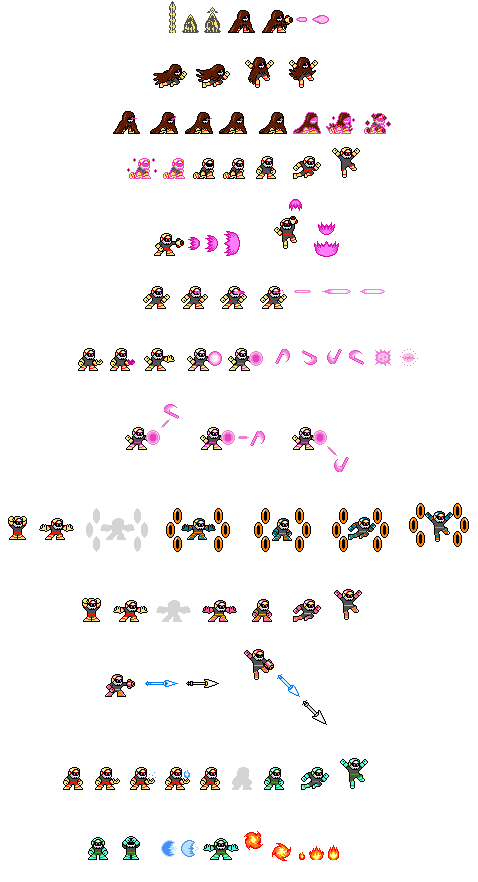 Darkbot spritesheet by boberatu on DeviantArt