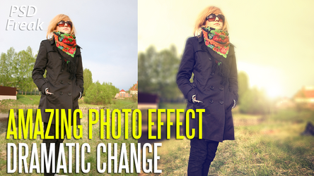 PSD FILE | Amazing Photo Effect on your image by t-fUs
