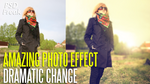 PSD FILE | Amazing Photo Effect on your image