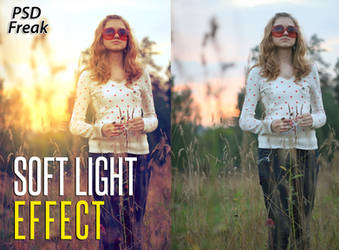 PSD File | Soft Light EFFECT by t-fUs