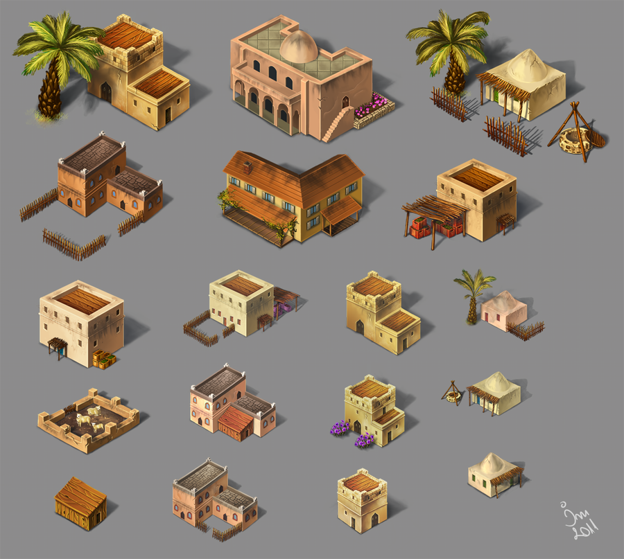 Building Isometric Assets Game