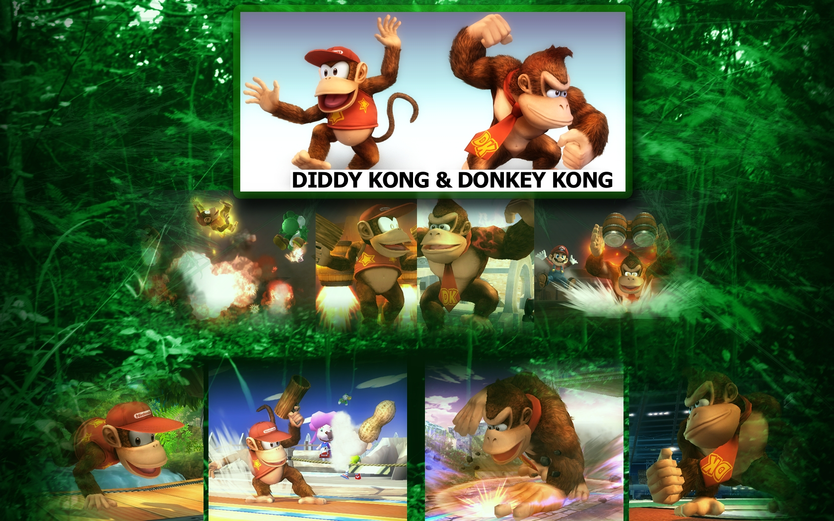 Another in my series of Super Smash bros Brawl wallpapers this time of the