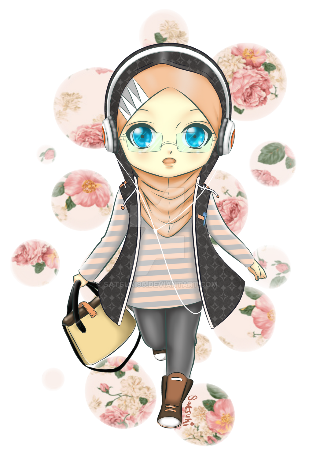 cute hijab girl png » Path Decorations Pictures | Full ...