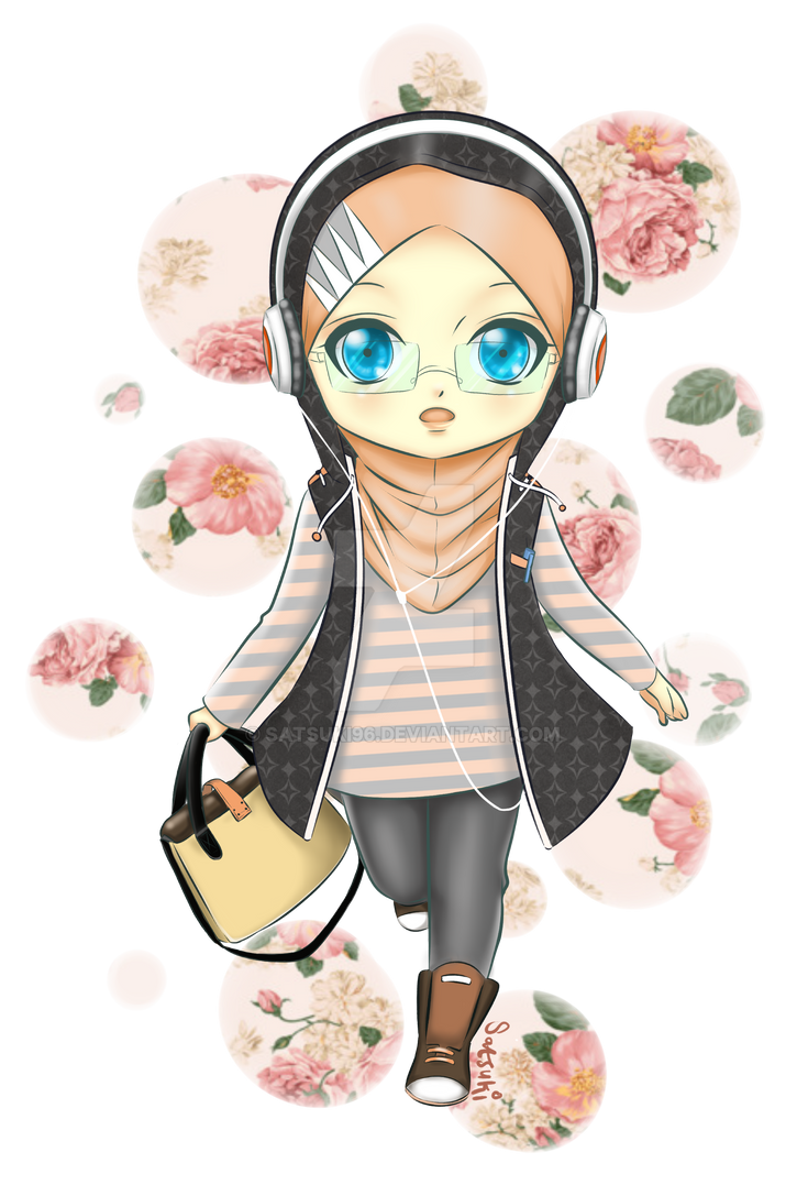 Chibi Hijab Girl By Satsuki96 On Deviantart