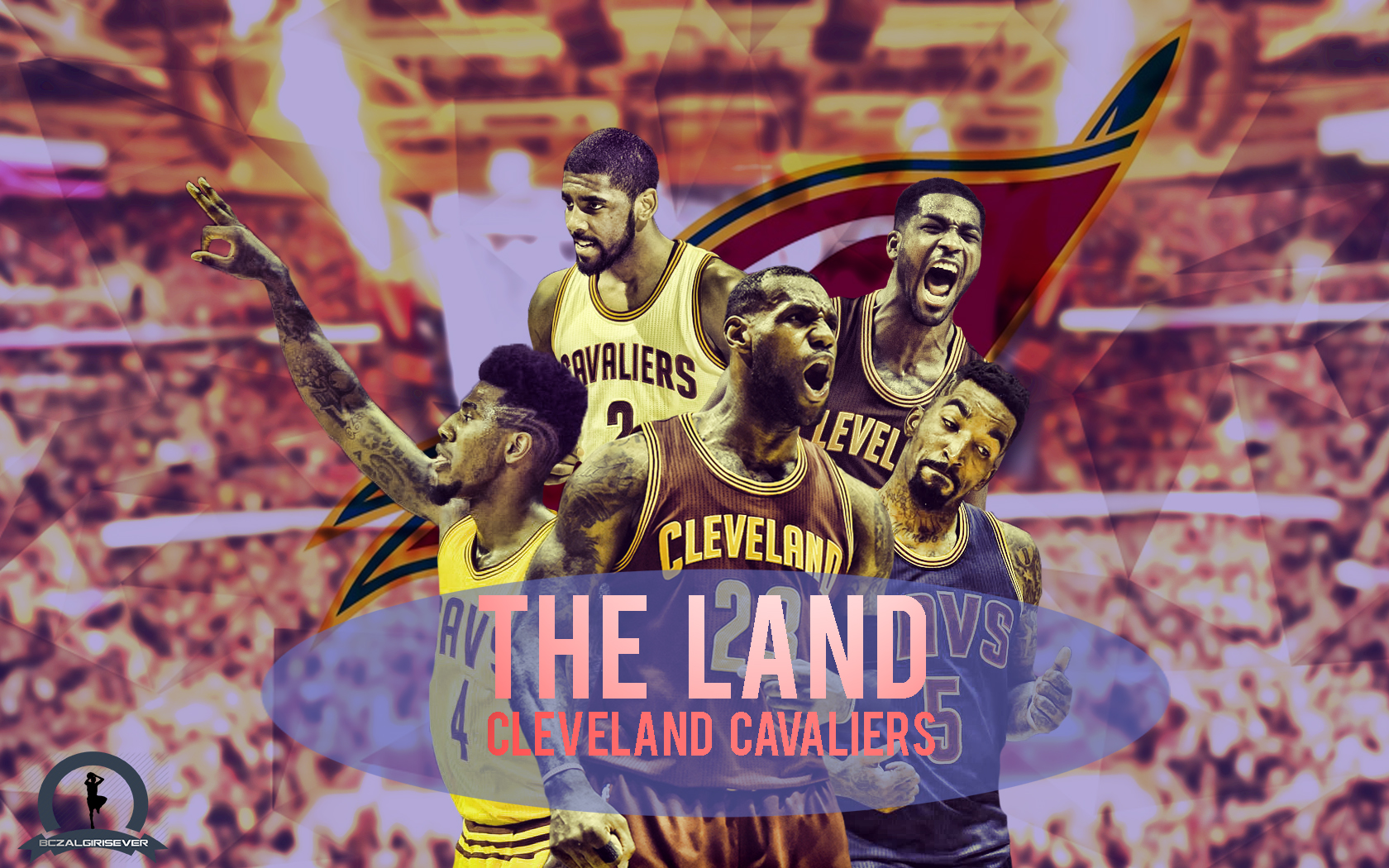 cleveland cavaliers wallpaper 2015 by bczalgirisever on