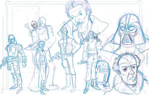 star wars tribute pencils by frankenart