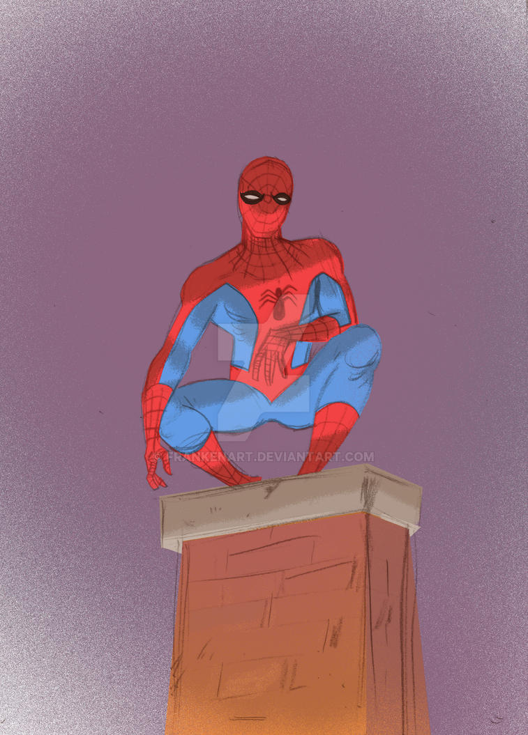 spidey by frankenart