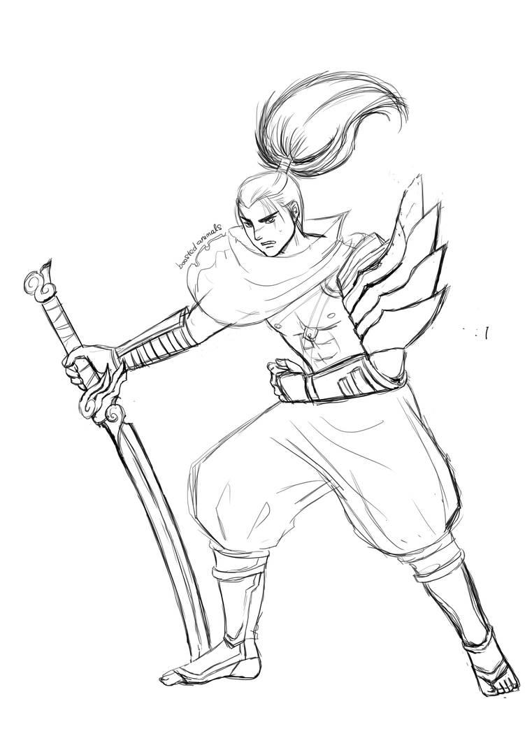 Yasuo League of Legends by HoniBunny on DeviantArt
