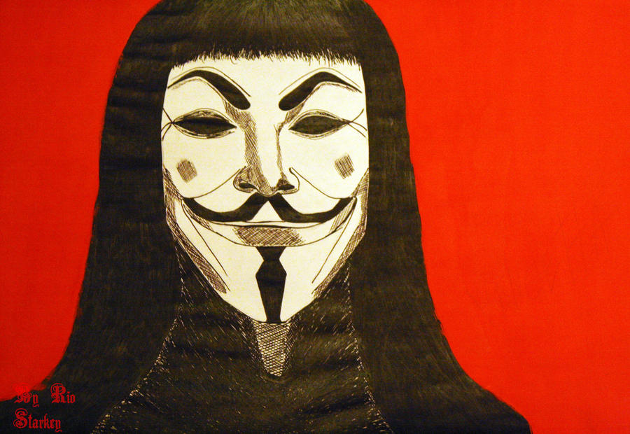 V For Vendetta fan art  Dope Visuals  Pinterest  Fan