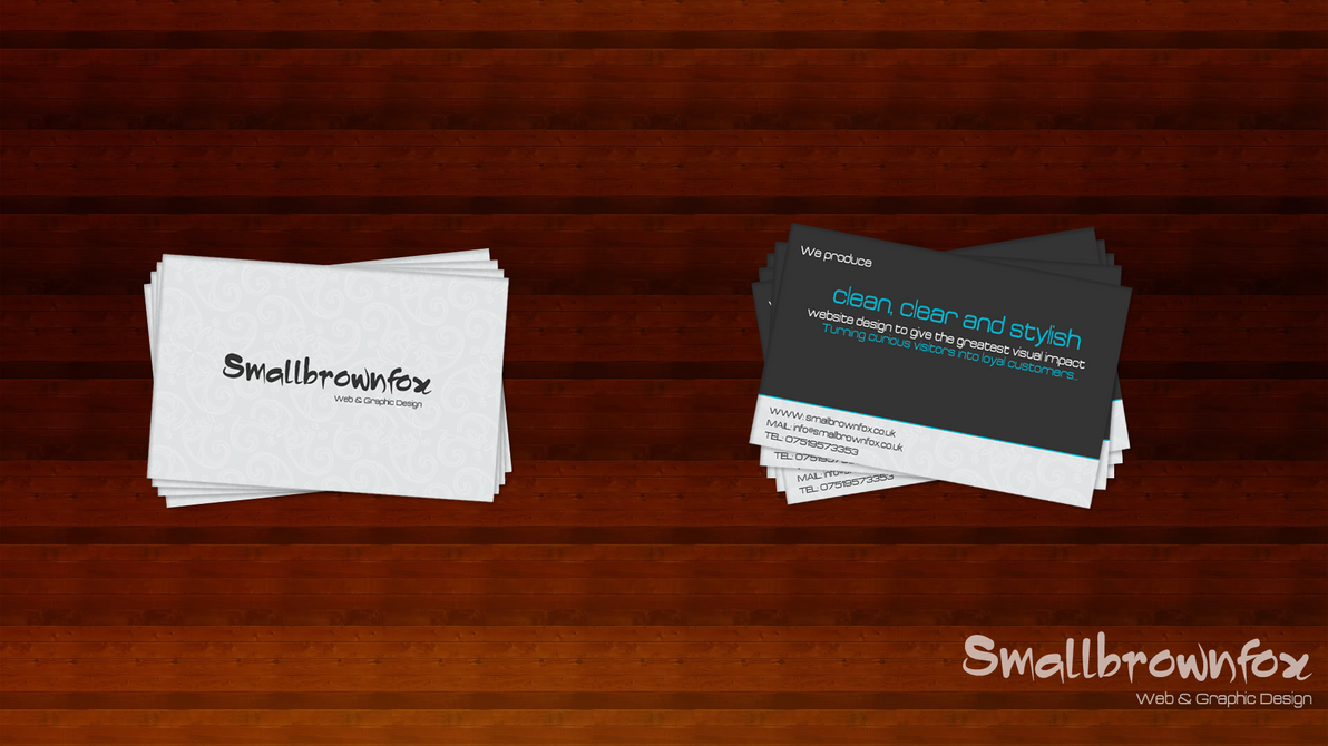 Web Design Business Cards by the-stand on DeviantArt