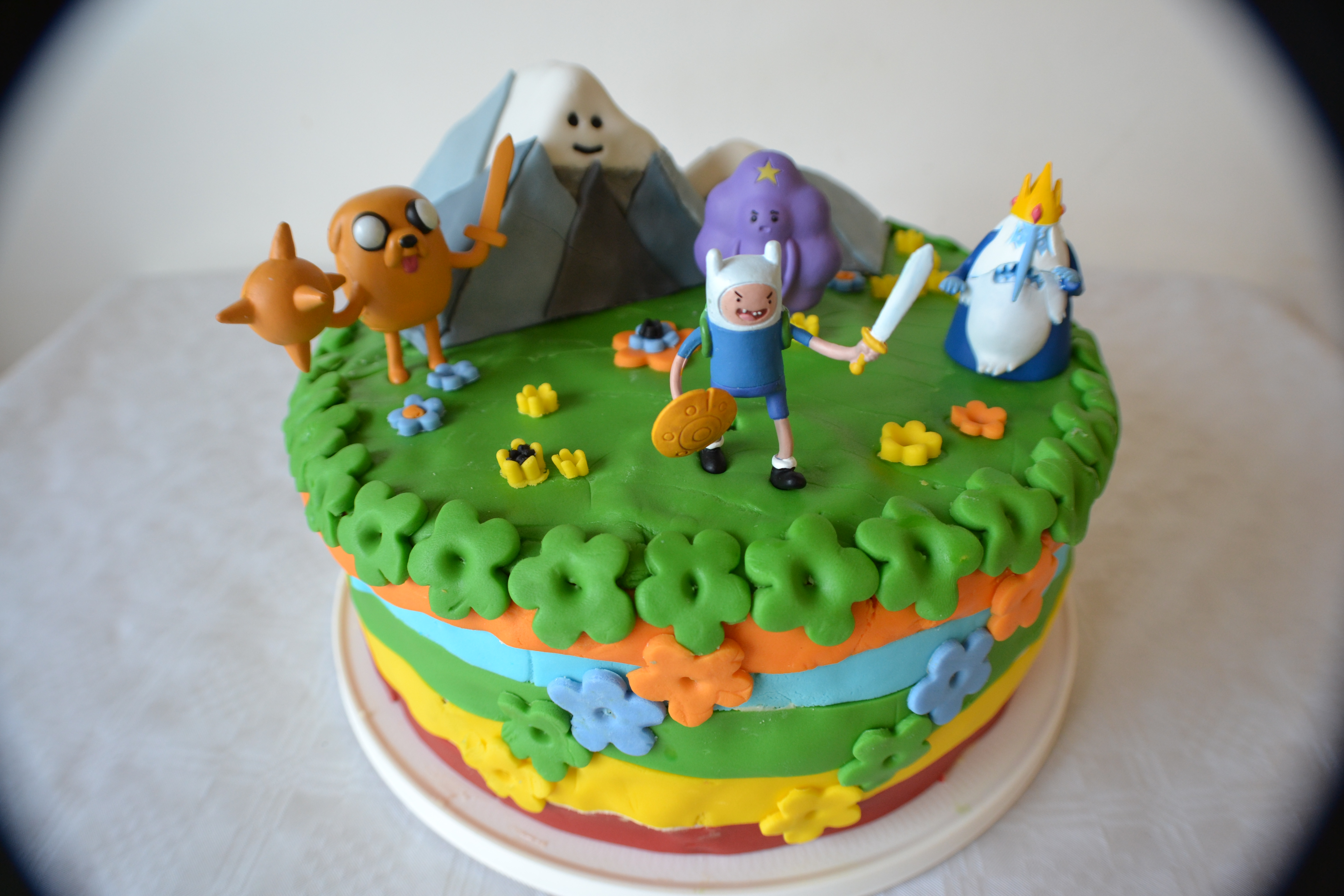 A cake for my cake day. 7 years! : adventuretime