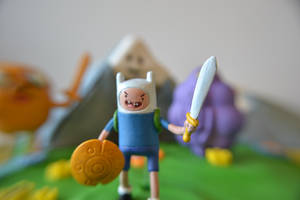 Adventure time cake close by hartifax