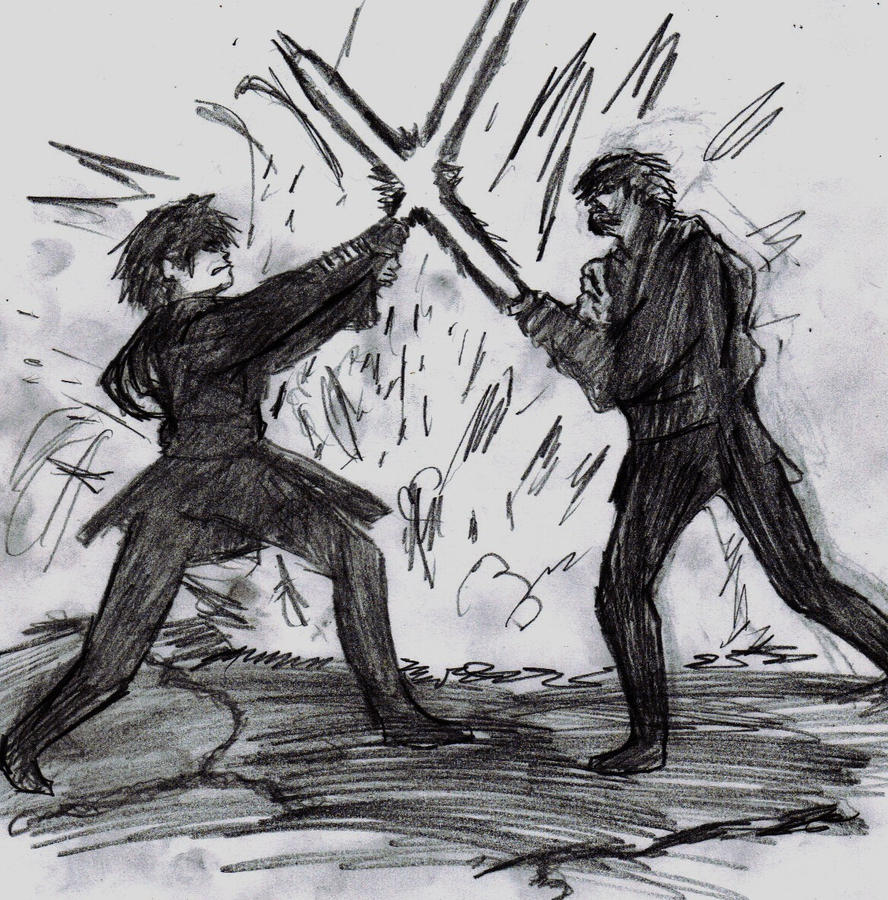 I'd like to share my art :) Anakin_vs_obiwan_by_scorch1138-d38ws8t