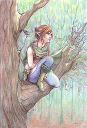 Earis, the explorer by Ivernalia