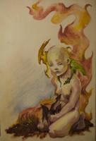 Daenerys by Ivernalia