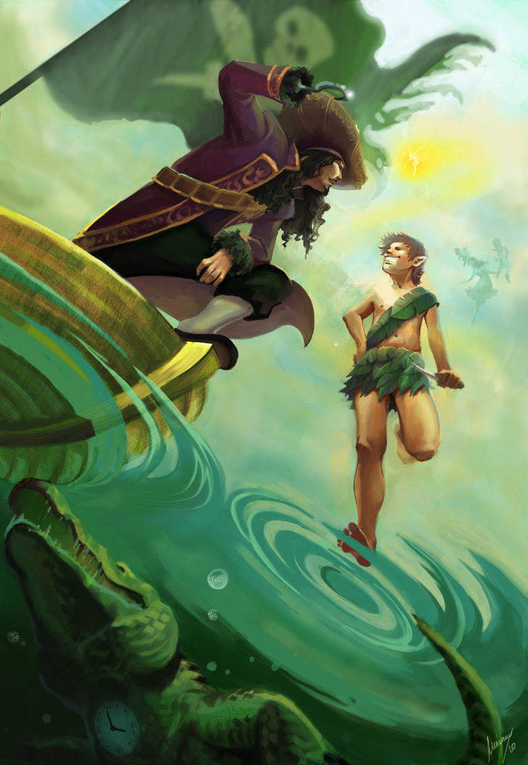 Peter Pan by Ivernalia