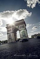 Arc Du Triumph by BlackCarrionRose