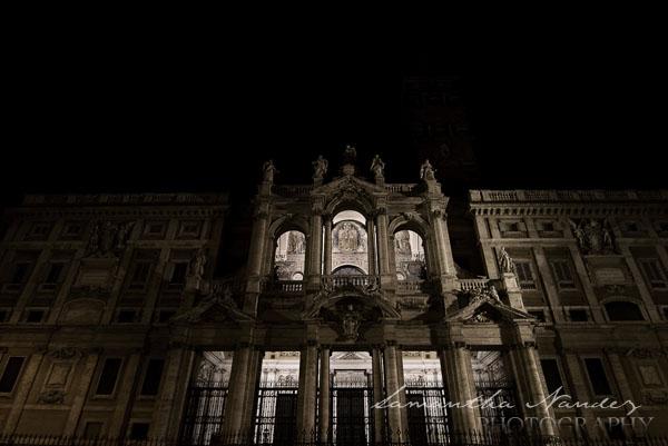 Santa Maria Maggiore - Night by BlackCarrionRose