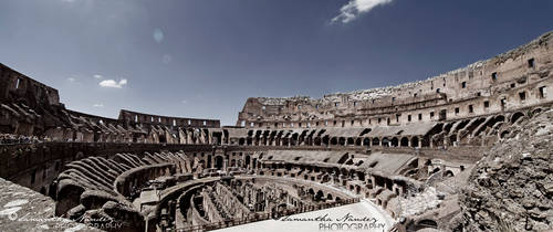 Colosseum Panoramic by BlackCarrionRose