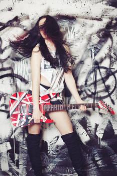 Punk II by BlackCarrionRose
