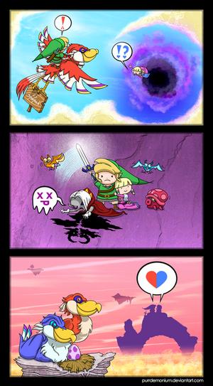 Zelda Skyward Sword Short Comic