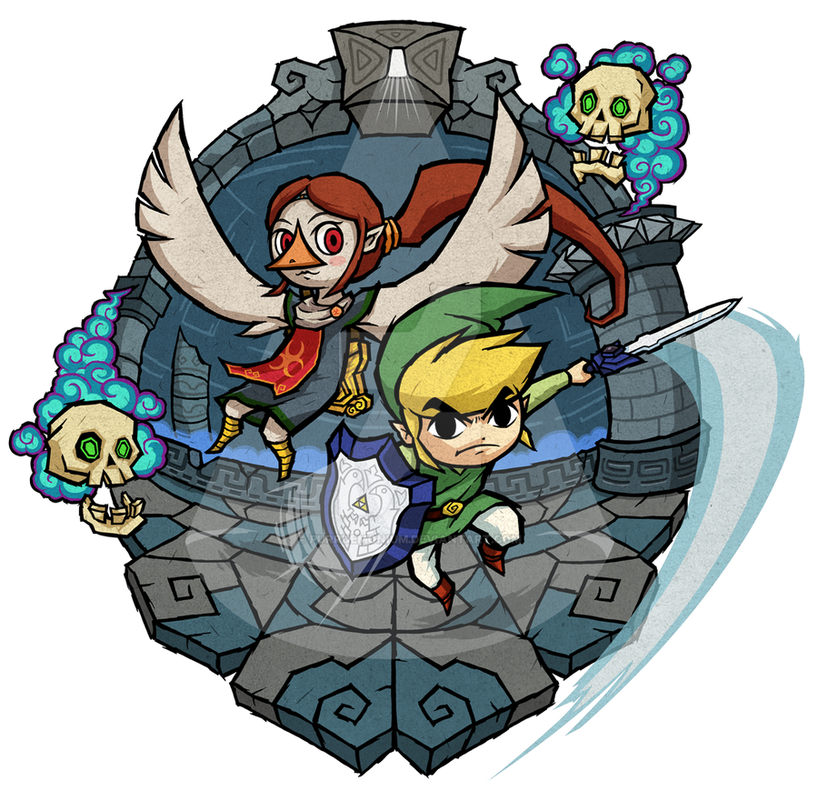 The Wind Waker Earth Temple By Purrdemonium On Deviantart