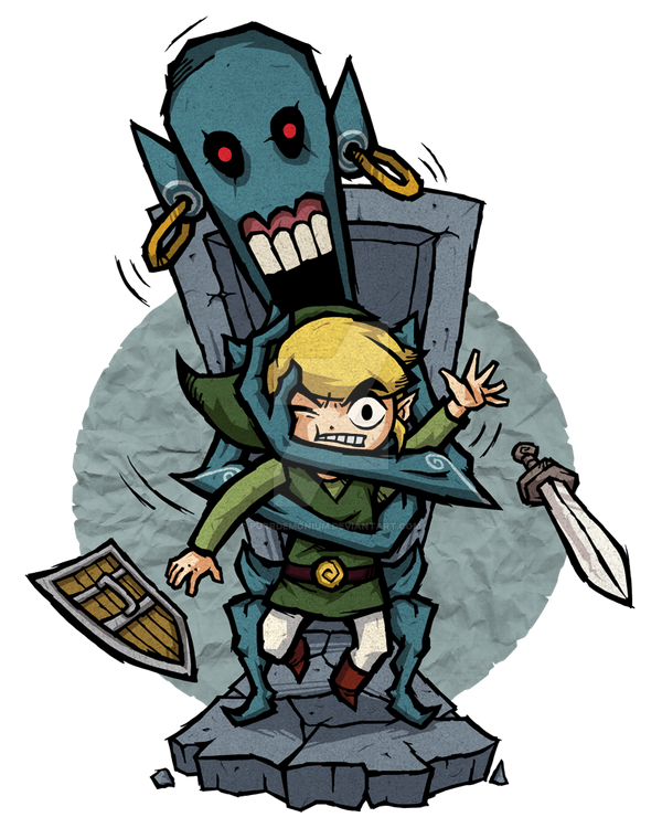 The Wind Waker Redead By Purrdemonium On Deviantart