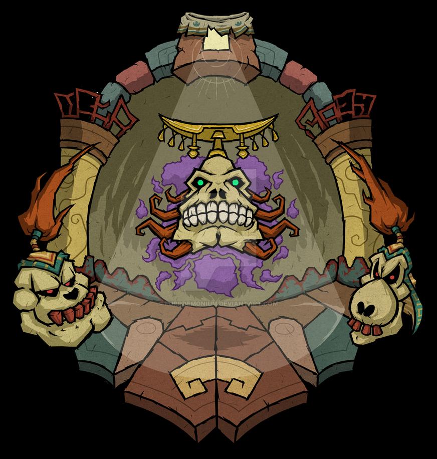 Majora's Mask: Igos du Ikana by Purrdemonium