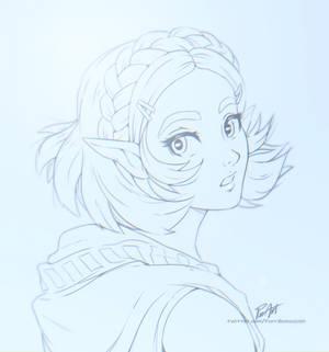 BotW2 Zelda sketch