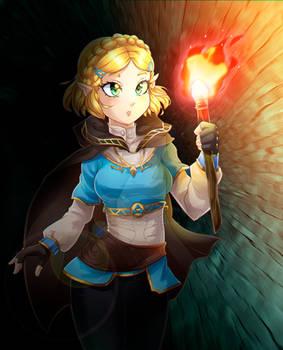 Breath of the Wild II Zelda Commission
