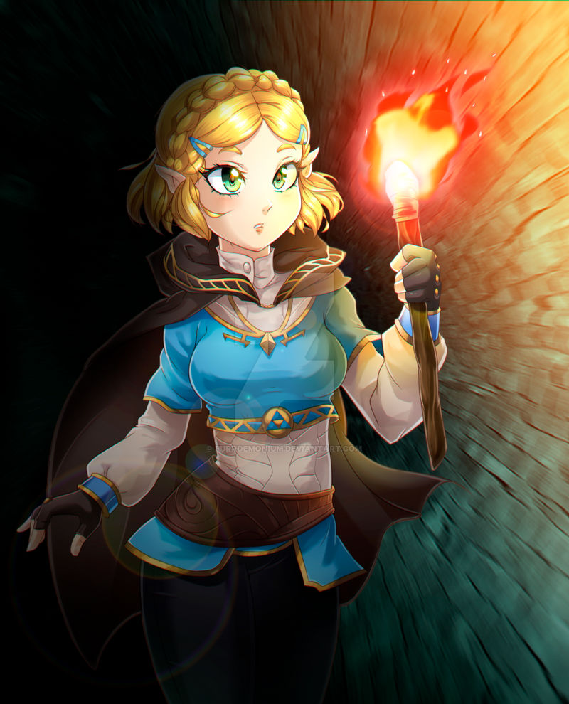 Breath of the Wild II Zelda Commission