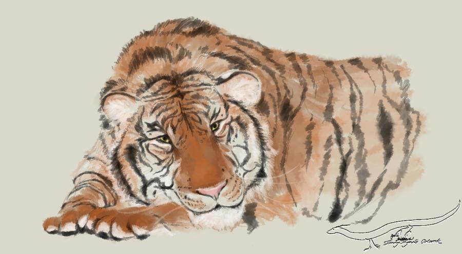 Tiger by LennyThynn
