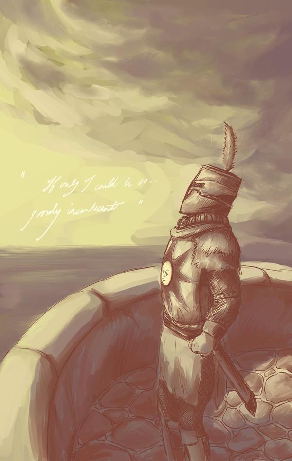 Solaire of Astora by LennyThynn