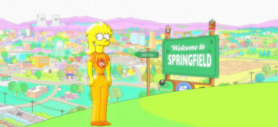 Lisa twenty years-old by hurricanepolimar