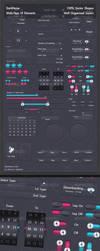 DarkNoise UI Kit by DigiMarkStudio