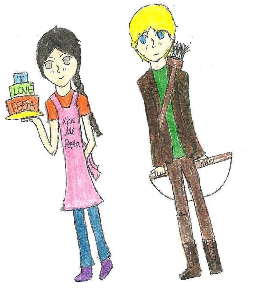 katniss und peeta