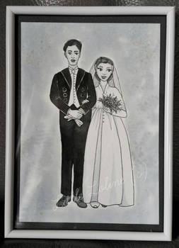 My Grand Parent's Wedding