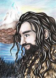 Thorin Oakenshield by NobodyRoxasXIII