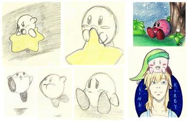 Sketchbook 02 - Kirby by NobodyRoxasXIII